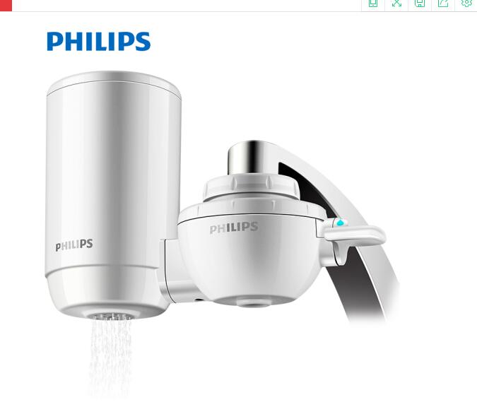 PHILIPS Philips (PHILIPS) WP5801 sạch lưới lọc nước lọc nước vòi vòi nước máy nước sạch trong nhà bế