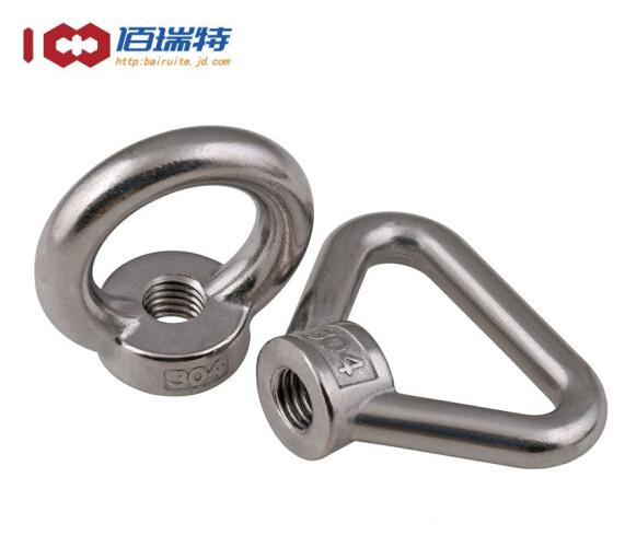 bairuite 304 vòng treo Nut Torus / tam giác thép không gỉ vòng / Nut M3M4M5M6M8M10M12-M20 series vòn