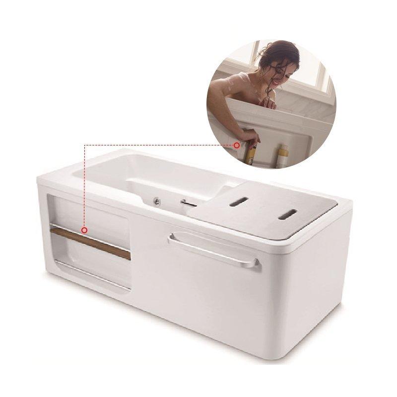 KOHLER 1.5m overall hóa interactions bồn tắm trong bồn tắm (bên phải (góc bit) được thiết kế cho ấm