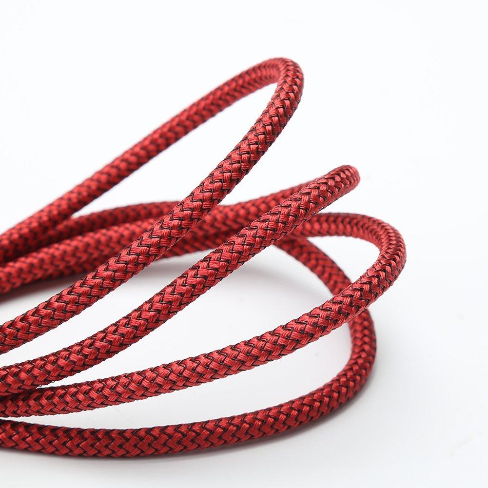 Dòng dữ liệu Sấm sét dữ liệu dây METRANS [3] ni lông đan áo cài dây sạc iPhone iPhone Plus /6 tương