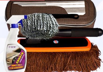 MENGQI Bông cọ rửa xe ô tô chổi lông gà rửa sạch bụi bặm khoản sáp chải chổi quét bụi sáp dùng đồ tẩ
