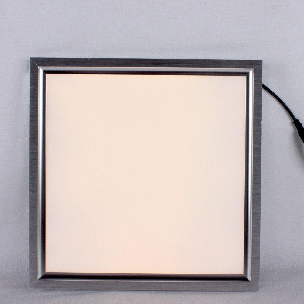 De Marcus bảo tích hợp đèn LED Panel phẳng đèn 300*300 tích hợp đèn hút ánh sáng (8W sáng đèn hướng