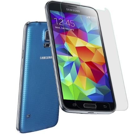 Điện thoại di động Hùng Vương miện Samsung S5 thuỷ tinh công nghiệp phim / độ nét cao vân tay / Blu