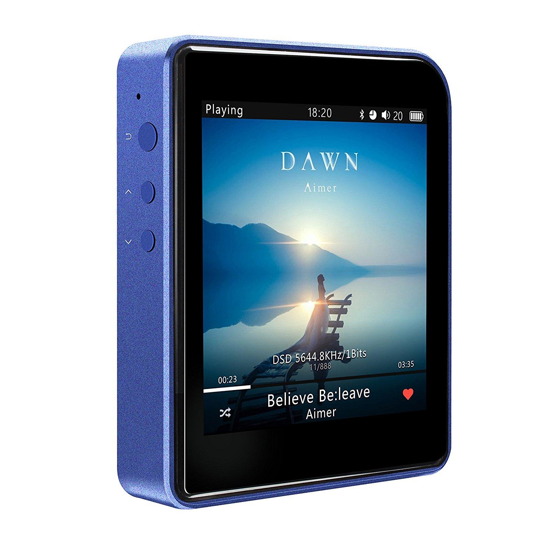 SHANLING núi Linh M1 xanh tập tin MP3 âm nhạc thương HIFI Player Bluetooth mini có màn hình Athletic