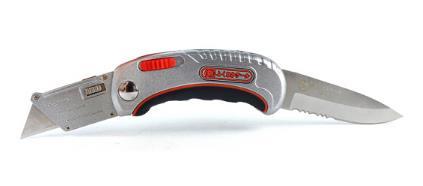 Fukuoka Nhật Bản gấp hai chiều trang trí dao dao thợ điện dao giấy dán tường dao lưỡi dao hình thang