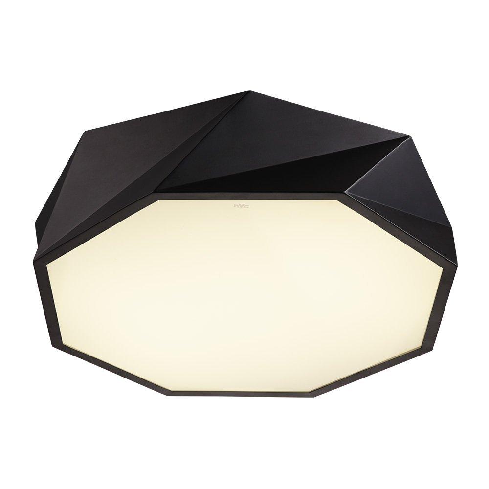NVC Scandinavian gió 24W Geometry bicolor ENKX9089 hút đèn hướng dẫn sáng đèn trong phòng ngủ.