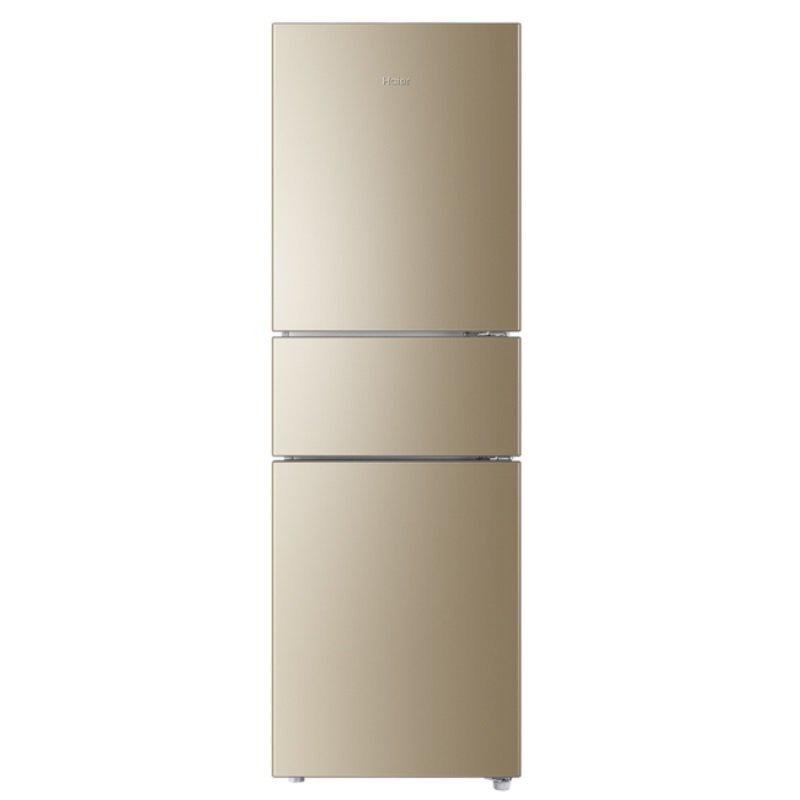 Haier Hale Hale BCD - 216wmpt thăng định tần số 216 ba cửa tủ lạnh (nhà cung cấp dịch vụ trực giao)