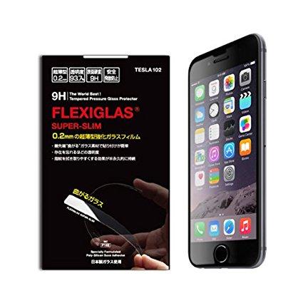 Tesra102 uốn cong hơn flexiglas (phim iphone6 kính chống đạn. Tôi bằng シ グ ラ siêu mỏng khi te4957i6p