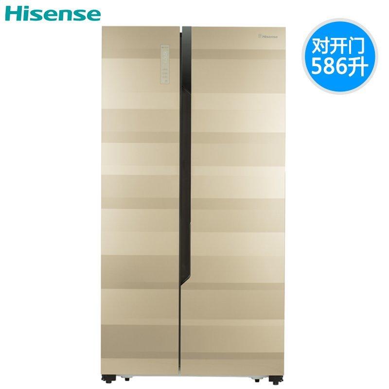 Hisense/ BCD-586WFB1DPUT thay đổi tần số phải mở cửa tủ lạnh gia dụng không có kem.