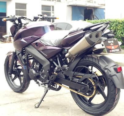 baodiao Bee, mô tô xe đua đường chân trời 150CC/200CC/250CC nhưng bản số xe mô tô màu xanh NBF250CC