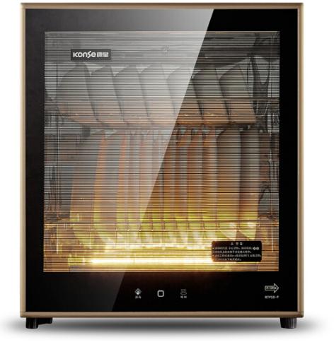 konse (konse) RTP50-P nhiệt độ cao nhà bếp tủ / dạng tháp tách và được khử trùng.