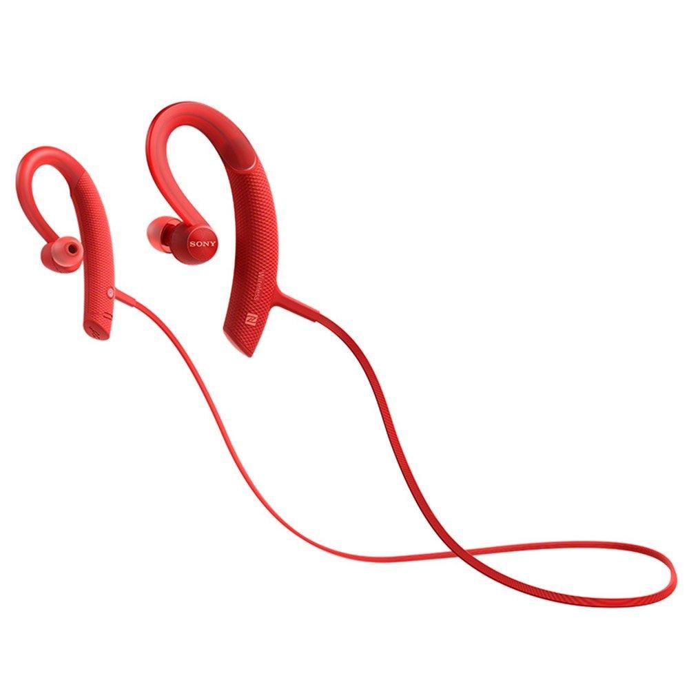 Sony Sony MDR-XB80BSRZCN nghe lọt tai tai nghe Bluetooth không dây tai nghe màu đỏ kiểu chuyển động