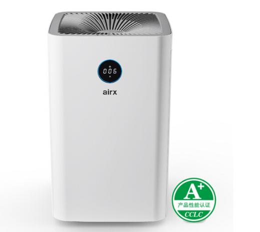 airx Máy lọc không khí airx A8 formaldehyde CADR trị giá hơn 400 mét khối mỗi giờ gia dụng thông min