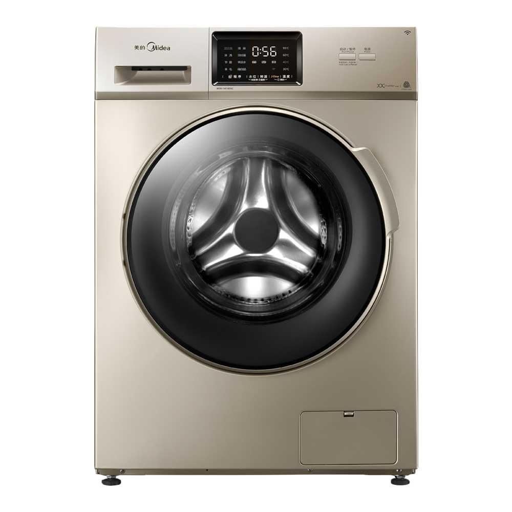 Midea Vẻ đẹp của Midea MG80-1431WDXG 8 kg, con lăn máy giặt điều khiển thay đổi tần số vàng WIFI 140
