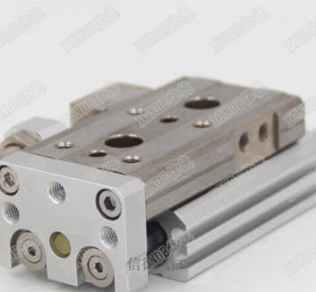 SMC loại khí động MXQL cylinder MXQ16-10-20-30-40-50-ASTFRP kết thúc điều chỉnh MXQ16-100