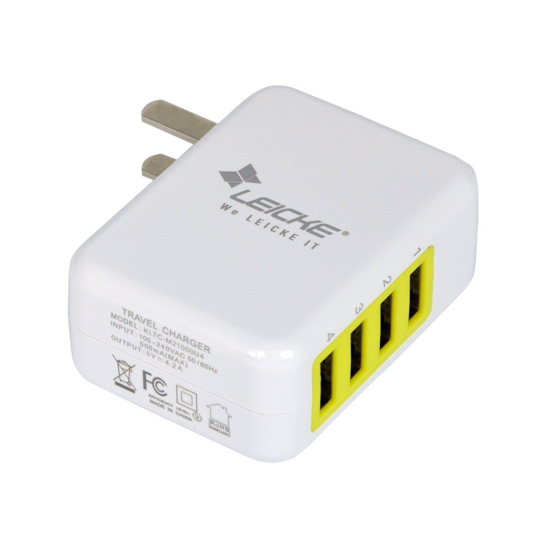 Đức Leicke có chức năng sạc pin sạc điện thoại di động USB adapter sạc cắm bảng điện 5V 4.2A áp dụng