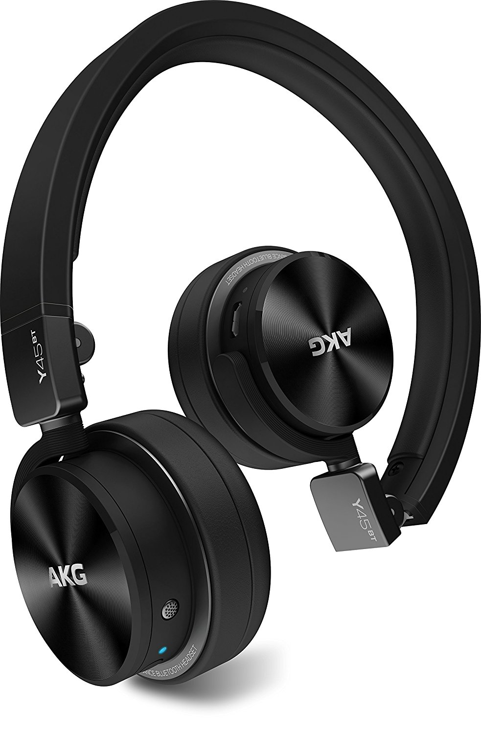 AKG Y45BT stereo Bluetooth headset, portable headset, mobile phone earphone black.