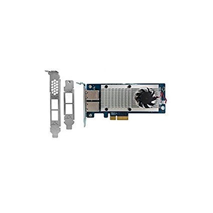 QNAP uy LAN-10G2T-X550 built in 10.000 Mbit/ giây – mạng Ethernet card (nối, PCI-E, Ethernet, IEEE 8