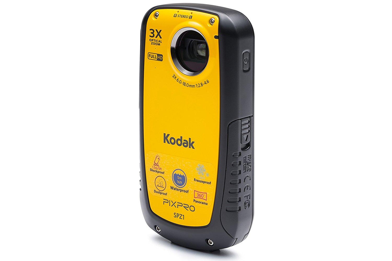 KODAK Pixpro spz1 thấm nước – màu vàng.