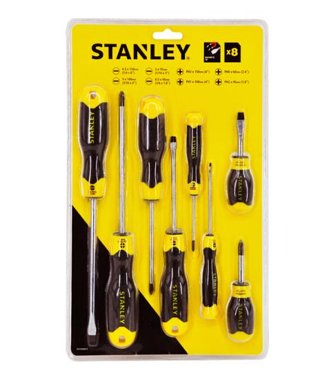 STANLEY - Stanley (Stanley) một tuốc nơ vít một bộ công cụ Gum bính đinh ốc nhảy nhóm 8 mảnh STHT920
