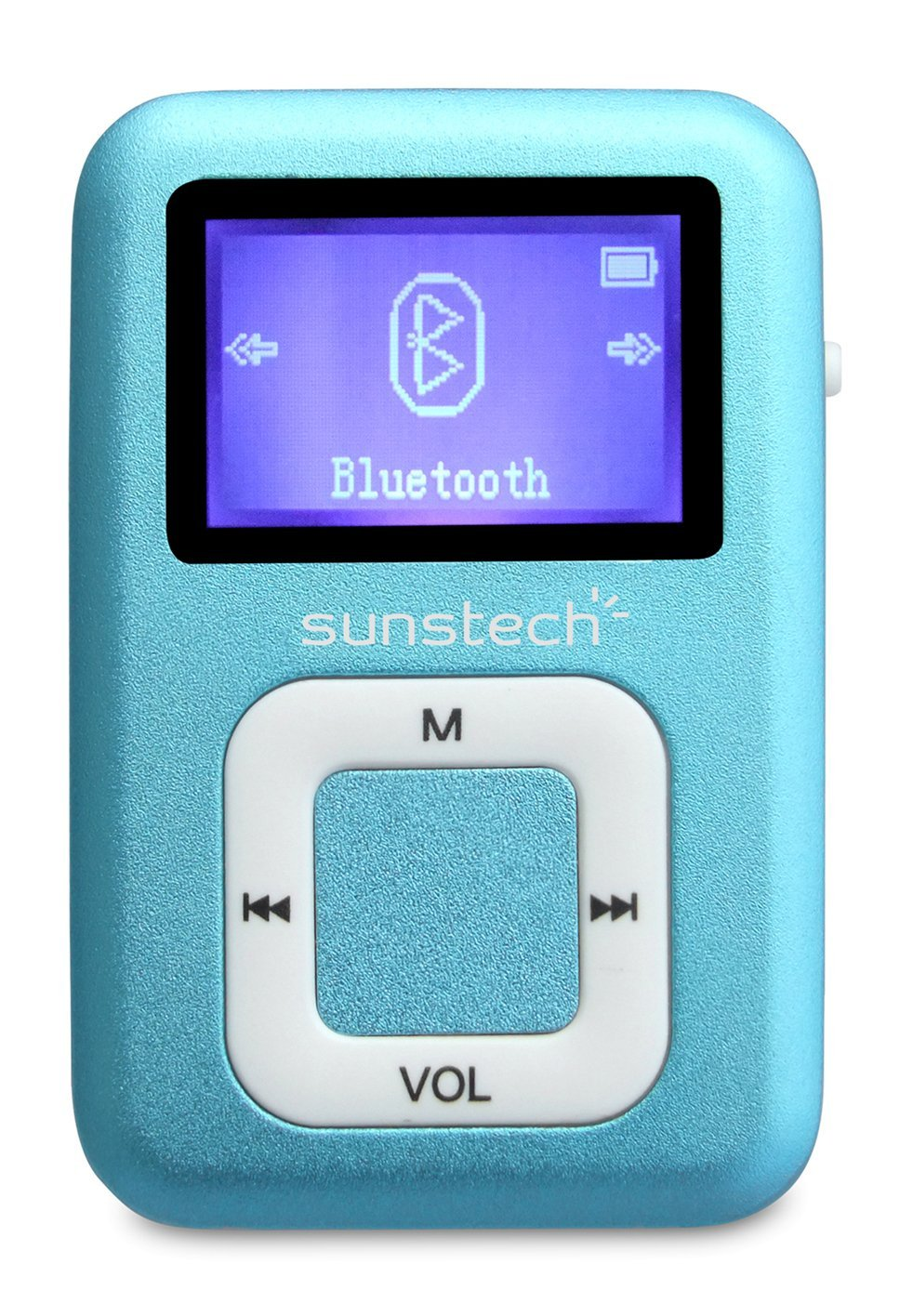 Sunstech dedalobt4gbbl tập tin MP3 Player to 2.8 cm (Bluetooth, 4 GB, FM, chức năng ghi âm), màu xan