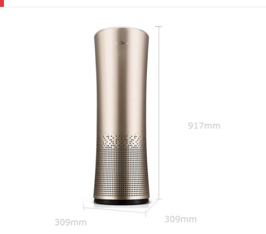 Midea Vẻ đẹp KJ500G-A11 nhà máy lọc không khí (Midea), ngoại trừ formaldehyde khói thuốc App điều kh