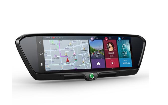 5 triệu M550 gương xe thông minh thông báo lùi lại một logger Navigator máy ảnh độ nét cao hai phát
