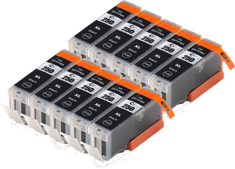 Blake Printing Supply    Blake tem supply ® 10 ngàn hộp đen tương thích với PIXMA mg