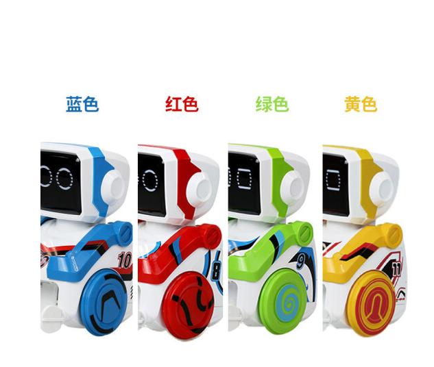 tongli Robot đồ chơi trẻ em thông minh có nhiều khả năng lập trình game giải đố tương tác thông minh