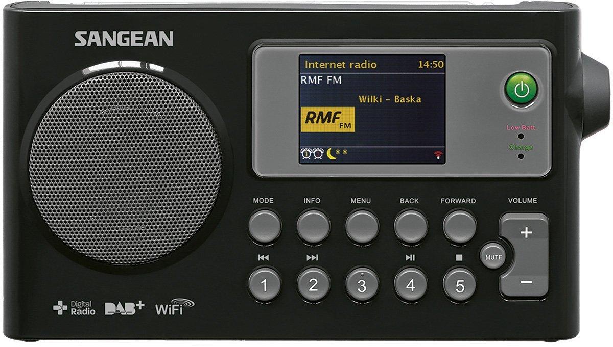 SANGEAN wfr-27 ° C Internet radio, fm-rds, DAB + mạng âm nhạc số máy thu phát