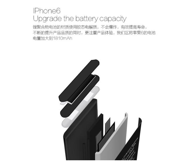 Zhixin Pin điện thoại di động pin tích hợp chất lượng tin Apple áp dụng iPhone4s/5s/6/6s/6Plus7SE th
