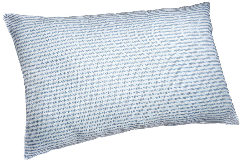 Adorable Dễ thương xanh sọc trắng vải bông gối