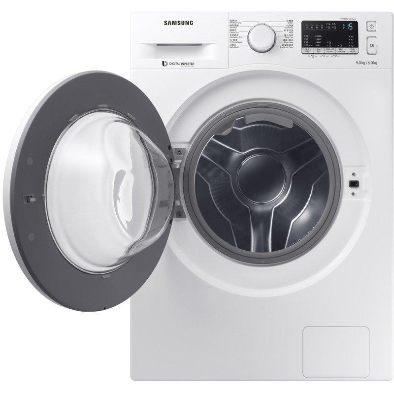 SAMSUNG WW90J5430GS/SC 9 kg khối lượng lớn tự động hoàn toàn trống máy giặt thông minh thay đổi tần