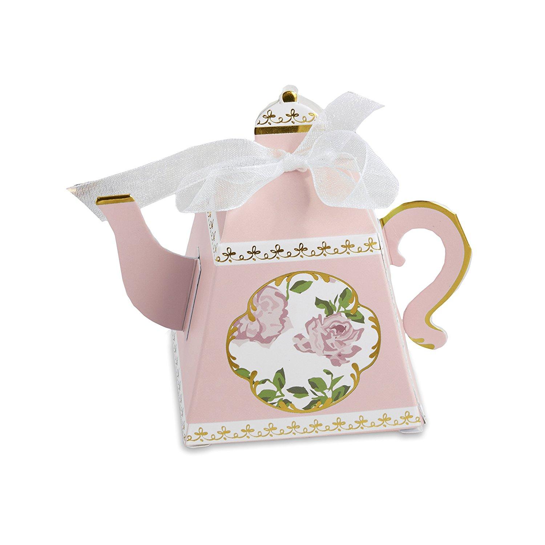Kateaspen   KATE Aspen 28298pk trà ấm trà bánh kẹo cưới Box (24 bộ), Hồng.