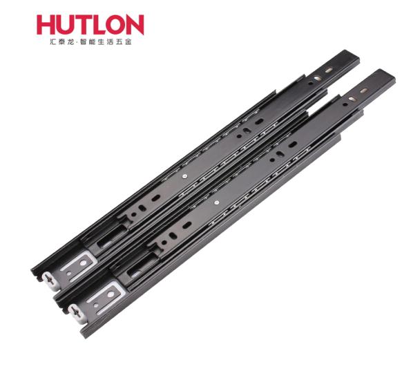 Hutlon Quỹ đạo chuyển Terron ngăn kéo ba phần sắt ba phần ngăn kéo đồ kim loại, quỹ đạo sắt Thanh tr