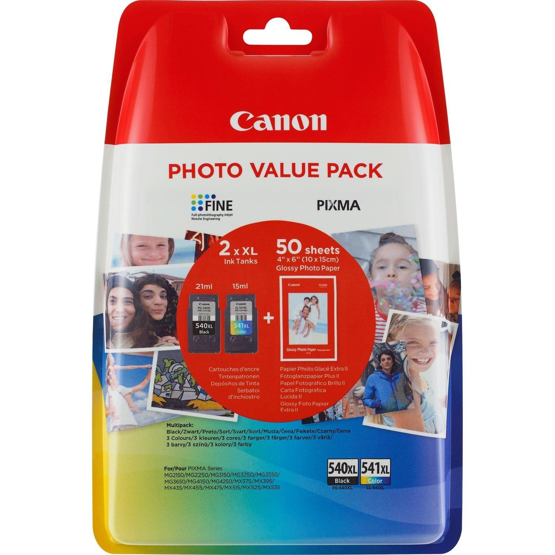 Canon PG-540 x l + CL-541 XL 2 cái hộp đựng