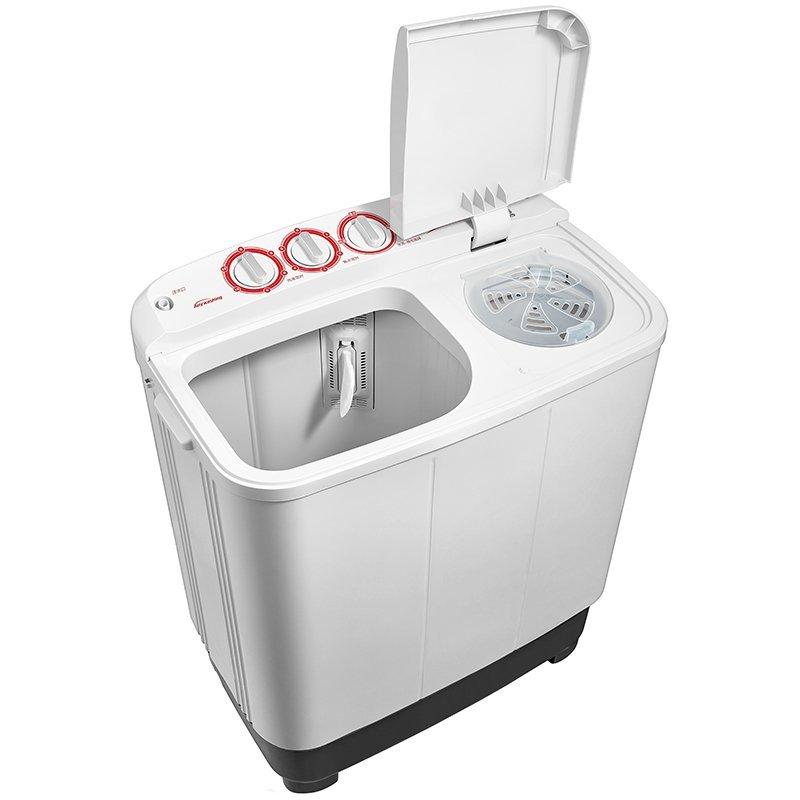 Midea Vẻ đẹp của Midea MP80-DS805 8 kg bán tự động máy giặt tủ lạnh gia dụng xi lanh đôi chuyển hàng