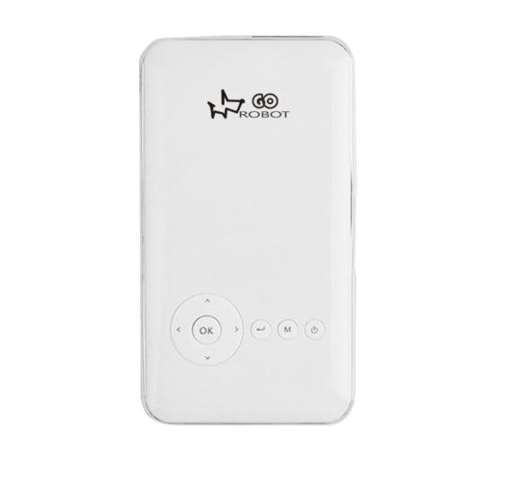 Robot GO Máy in Robot GO M6S nhỏ cùng màn hình độ nét cao Wifi Beamer gia dụng điện thoại di động Ap