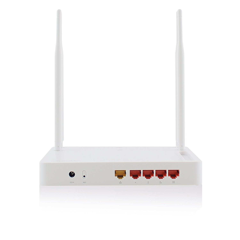 Eminent Em4510 nổi tiếng AC router 300 / giây lên 2.4 GHz và 867 Mbps trên 5 GHz của 4 x 1 x Nic WAN