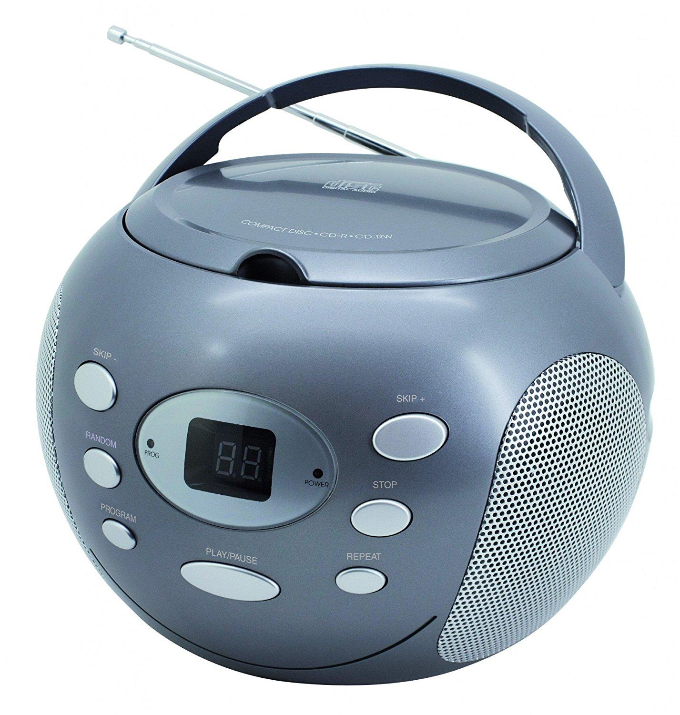 SoundMaster scd2000 CD Máy không có chức năng thu đưa AM / FM, nhiều màu sắc.