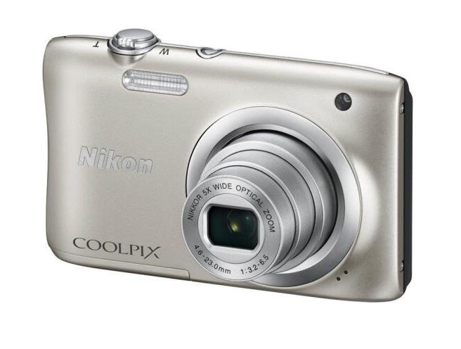 NIKON Nikon (NIKON) Coolpix A100 xách tay máy ảnh kỹ thuật số (2005 triệu điểm ảnh 2.7 inch màn hình