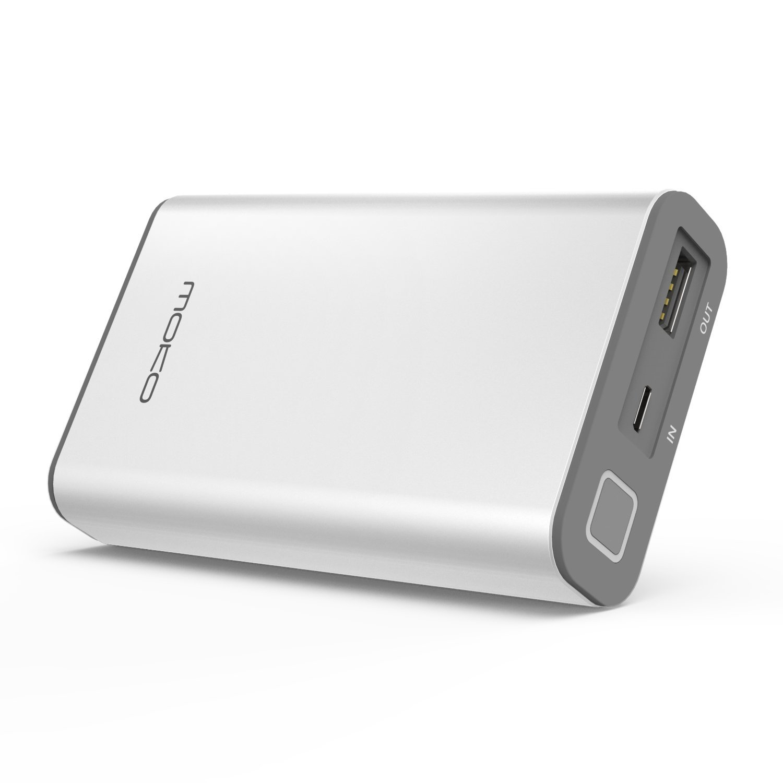 MoKo    Mỹ MoKo 10050mAh di chuyển nhanh sạc pin sạc điện, QC (cố 3.0 đèn hiển thị áp dụng với Apple