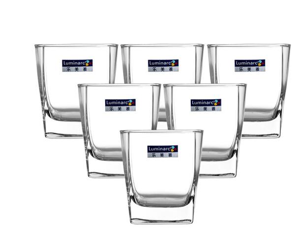 Luminarc Le Luminarc tư thẳng thân kính không chì thủy tinh đồ uống tách trà nước ly 300ml 6 chỉ nạp
