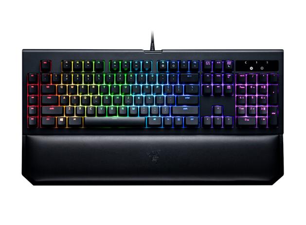 Razer Bolyeria multocarinata (Razer) Nhện góa phụ đen Edition V2 RGB trò chơi bàn phím máy trục Jedi