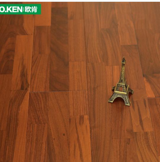 O.KEN  (O.KEN) tăng cường hợp sàn gỗ Geothermal sàn giản lược mài mòn. Sàn gỗ nhà sản xuất 605