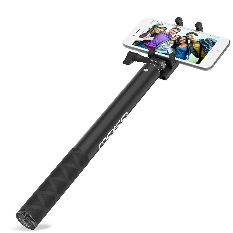 MoKo   Mỹ MoKo Bluetooth gậy hỗ trợ tự chụp ảnh Apple iPhone Plus X / 8 / 8 / Huawei Mate9 / Samsung