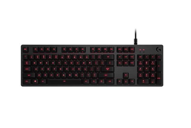 G Logitech (Logitech) G413 trò chơi trên bàn phím máy (đen) trên bàn phím máy ăn gà cỡ khuất bóng bà