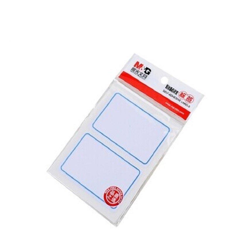 M&G Ánh sáng từ thẻ thẻ lấy miếng dán dính nhớt miệng 76MM*51MM Index thẻ giấy 10 tấm / gói (đỏ và x