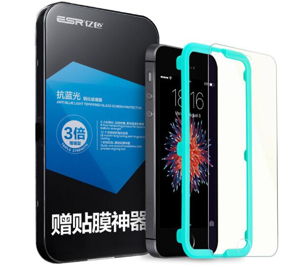 ESR Điện thoại di động triệu màu (ESR), táo 5S thuỷ tinh công nghiệp thuỷ tinh công nghiệp iphone5s