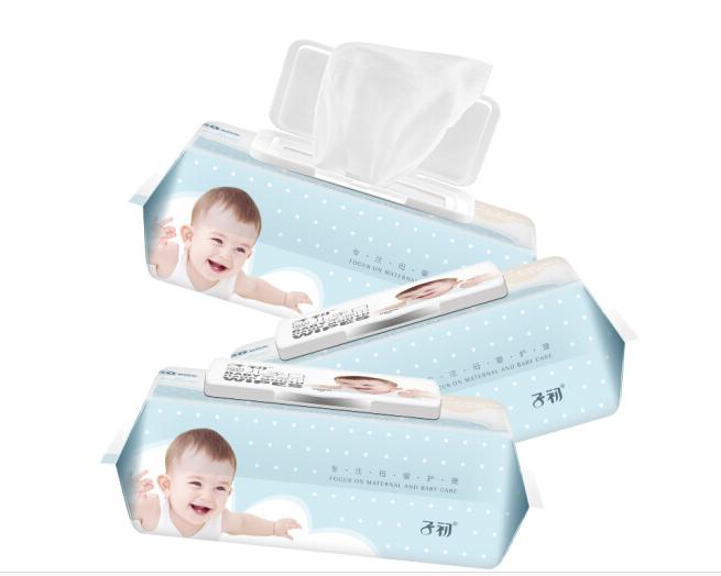 Springbuds cotton màu Con trai em bé miệng đầu tay được 90 viên *3 bé bé sơ sinh gói